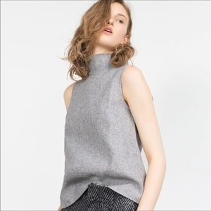 Zara | Sleeveless Turtleneck